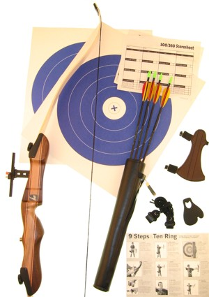Ages 8 And Up Standard Archery Package